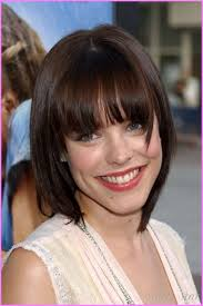 haircuts and bangs short blunt cut with bangs best short hair styles
