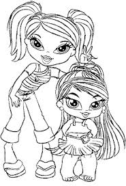 mandala coloring pages bratz coloring