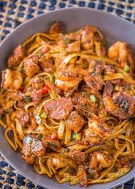 cuisine of louisiana easy cajun jambalaya pasta dinner then dessert