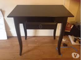 petit bureau noir bureau ikea noir affordable verner chaise pivotante produit