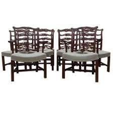 Chippendale Dining Room Set Large And Fantastic Set Of 18 Antique Chippendale Dining Room