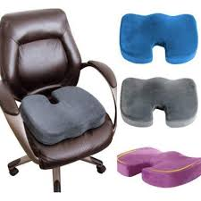 Desk Chair Seat Cushion by Orthopedic Memory Foam Seat Cushion For Lower Back Tailbone And