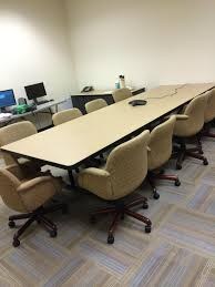 Conference Table With Chairs Used 4x12 Conference Room Table