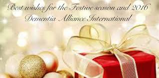 wishing you all a happy and safe festive season dementia