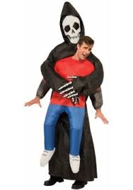 Inflatable Halloween Costumes Adults Grim Reaper Costumes Adults U0026 Kids Halloweencostumes