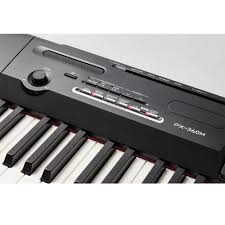 casio privia portable digital piano px 360 88 weighted key with x