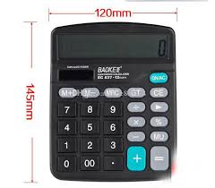 ecran bureau retourn 2018 837 office stationery bao gram big screen type solar calculator