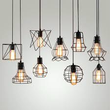 Vintage Light Bulb Pendant Light Bulb Pendant Fixture Vintage Wrought Iron Pendant Lighting