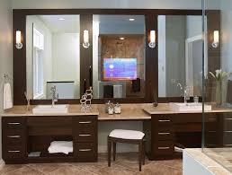 bathroom mirrors bathroom tv mirror luxury home design modern in