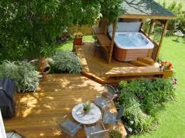 Backyards With Gazebos by 63 Tub Deck Ideas Secrets Of Pro Installers U0026 Designers