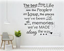 Vinyl Wall Quotes Etsy - Family room quotes