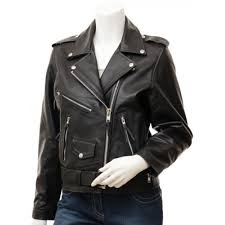 Cowhide Leather Vest Black Cowhide Biker Leather Jacket