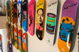 wall art design ideas sony dsc best skateboard wall art