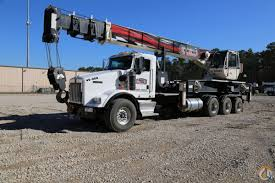 terex crossover 4500 boom truck crane for in houston texas on