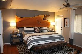 Rustic Bed Headboards by 25 Reasons To Fall In Love With A Live Edge Headboard