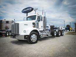 kenworth 4 sale used 2007 kenworth t800w tri axle daycab for sale in ms 6628