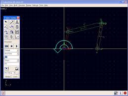 four bar linkage motion simulation in md