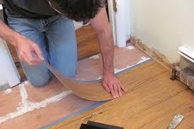 stunning vinyl sheet flooring installation awesome installing