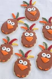 306 best thanksgiving u0026 fall cookies images on pinterest fall