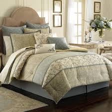 bedroom comforters and bedspreads with white curtain and brown