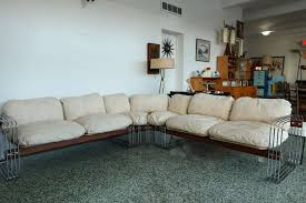 antique sectional sofa vintage robert haussmann stendig sofa couch sectional modern