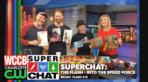 super chat flash speed force