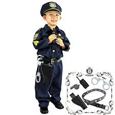 Boys Police Officer Halloween Costume Amazon Joyin Toy Deluxe Police Officer Costume Role Play