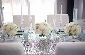 wedding decorations silver 15 breathtaking silver wedding decoration
