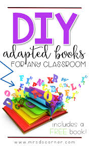 adapted books for the special ed classroom mrs d u0027s corner