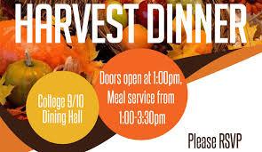 harvest dinner 2015