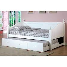 White Daybed With Trundle Creative Of White Wood Daybed With Trundle With Best 25 Daybeds