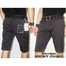 Celana Zara celana chino pria 24 26 celana pendek chino elevenia