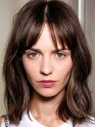 lob hairstyles with bangs 40 cool lob hairstyle inspirations to give that wow factor lob