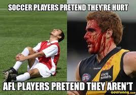 Meme Sport - afl players pretend they aren t funny sport joke meme