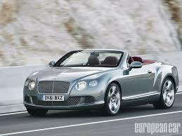 bentley velvet 2012 bentley continental gtc european car magazine