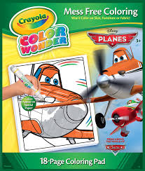 amazon com crayola color wonder disney planes coloring book and