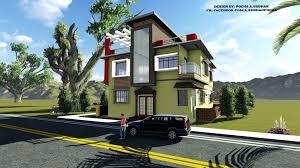 Revit Architecture House Design By Pocha A Subhan By Pochasubhan Revit Architecture House Design