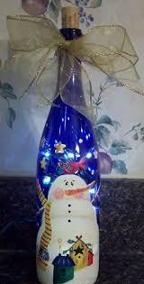 76 best diy christmas crafts images on pinterest wine bottle