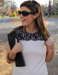 What Should I Wear To My Baby Shower - fall baby shower style marionberry style
