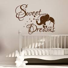 online get cheap elephants dream aliexpress com alibaba group dctop sweet dream elephant mom and her baby wall sticker pvc vinyl art kids bedroom wall