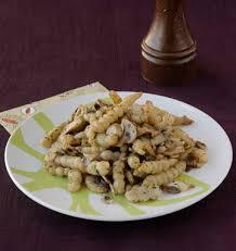 cuisiner les crosnes crosnes sautés aux chignons les meilleures recettes de cuisine