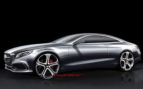 mercedes 2014 s class mercedes s class coupe sketches confirmed as the car guide