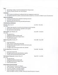 Law Enforcement Sample Resume by Chefs Resume Resume For Your Job Application