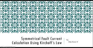 three phase symmetrical fault analysis power system youtube