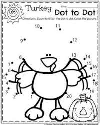 pictures on thanksgiving worksheets for kindergarten easy