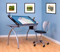Drafting Table And Chair Set Amazon Com Studio Designs Futura Vision Chair In Silver 10052