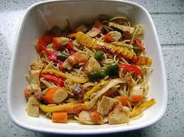 cuisiner des pates chinoises recette de mes nouilles chinoises