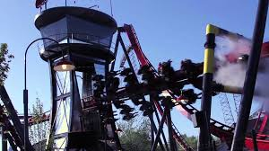 X Flight At Six Flags X Flight Wing Coaster At Six Flags Great America Youtube