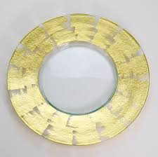 Decorative Serving Trays & Glass Charger Plates