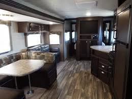 Forest River EVO  Travel Trailer W Slide Out  Climate - Travel trailer with bunk beds